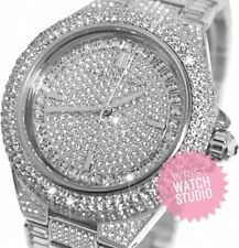 Michael Kors Watch Silver MK5869 Camille Glitz Ladies Watch