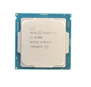 INTEL CORE i7-8700K CPU PROCESSOR 6 CORE 3.70GHZ 12MB L3 CACHE 95W SR3QR