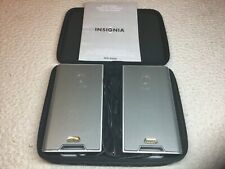 Insignia NS-2908 USB Portable Notebook Laptop Speakers 7 In X 4 In NEW