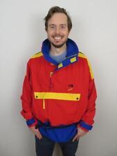 The North Face Vertical Red Color Block Goretex Jacket Mens XL Coat Ski Vintage