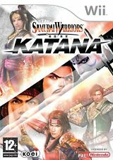 Wii Samurai Warriors Katana - Excellent Condition with book
