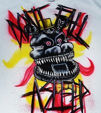 Custom Airbrushed Personalized Nightmare Shirt! Five Nights At Freddy's FNAF 4