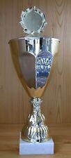 1 Pokal Imposant groß Höhe 39cm mit Gravur + Emblem #1876g (Pokale Medaillen)