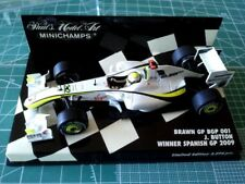 Jenson BUTTON - MINICHAMPS 400090422 - BRAWN - BGP 001 - Winner SPANISH