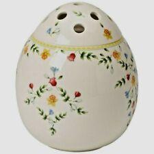 Villeroy & Boch Spring Fantasy Ei Vase Porzellan Weiß Blumen-Dekor H22cm NEU OVP