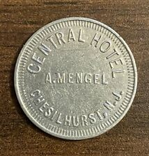 Scarce Chesilhurst, New Jersey NJ Central Hotel Trade Store Token Good For 5C