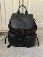 Tumi Joan Backpack Women 734300 Black Leather Travel Bag New