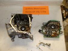 HONDA GX160 5.5HP HORIZONTAL ENGINE OEM crankcase cases cylinder block cover