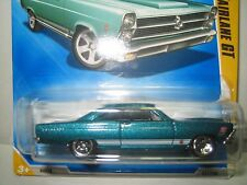 FORD FAIRLAINE GT 351 SUPER RARE 2008 SHARP HOTWHEELS METALLIC TURQUOISE !!