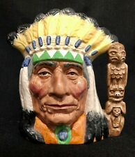 New ListingRoyal Doulton 'North American Indian' Colourway D6786 1987 Large Toby Jug 1/1000