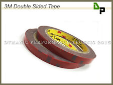 Two Rolls of Automotive 3M Double Sided Adhesive Tape (L: 3m x W: 10mm x D: 1mm)