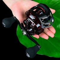 High Speed Bait Casting Fishing Reel 20 Ball Bearings Wheel Stainless Lure T1Y5