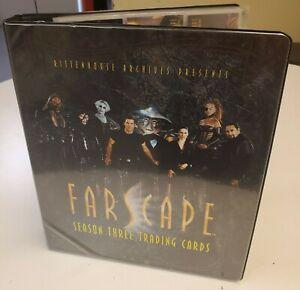 Farscape Season 3 Trading Card Binder Cell Set Promo Magnets Base Lot