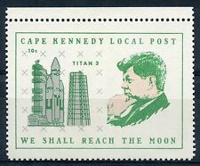 UNITED STATES CAPE  KENNEDY  LOCAL POST 10C TITAN 3 STAMP MINT NEVER HINGED