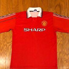 Vintage Sampiyon Sport Manchester United Sharp David Beckham Jersey sz 2XL