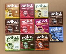 44 Assorted Selection Nakd Fruits and Nuts Bars