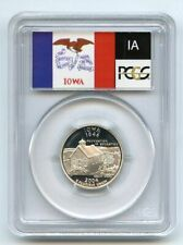 2004 S 25C Silver Iowa Quarter PCGS PR69DCAM