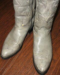 DURANGO COWBOY BOOT GREY 3553 1 87 9 & 1/2 D