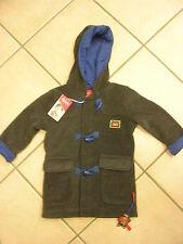 Mantel, Duffle-Coat, grau mit blau Fleece von Sigikid. NEU!