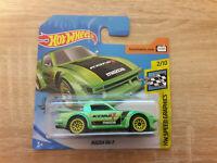 Hot Wheels Hotwheels Mazda RX7 RX-7 - 1:64 1/64 HW Speed Graphics 2/10 Green