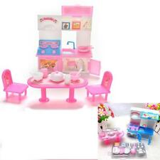 20 Pcs/lot Creative Kitchenware Dinner Tables Cupboard Sink for Barbies Dolls EP