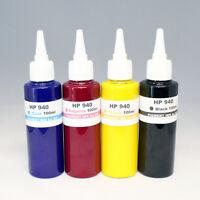 HP 940,940XL 400ml 4 Colors Pigment Ink Set-Officejet Pro 8000. 8500, 8500A