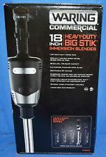 "Waring Commercial 18"" Heavy Duty Big Stik Immersion Blender Wsb65"