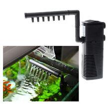 Filtre de pompe à eau d'aquarium Filtration interne de réservoir de poissons