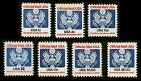 #O127-133 Official Mail, 7 Single Stamps, Mint **ANY 4=FREE SHIPPING**