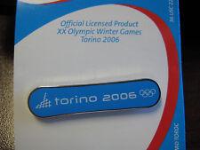 2006 Torino Olympic Snowboard Pin