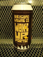BIRDSONG BREWING Charlotte NC ~ CUSTOM Wake Up Porter Can Beer Tap Handle