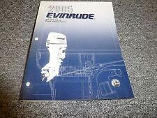 2005 Evinrude 200 225 250 HP DI Outboard Motor Shop Service Repair Manual SO