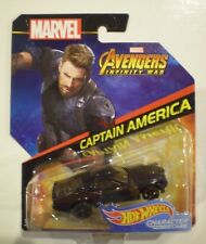 HOT WHEELS 2018 Character Cars *CAPTAIN AMERICA* Marvel: Avengers: Infinity War
