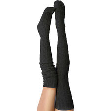 974f45e6e Women Girls Cable Knit Extra Long Boot Socks Over Knee Thigh High Warm  Stocki ME