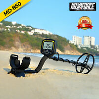 TX-850 Metal Detector Deep Sensitive Search Gold Digger Hunter + headphone