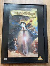 The Lord Of The Rings (DVD, 2001) Ralph Bakshi, John Hurt, Anthony Daniels