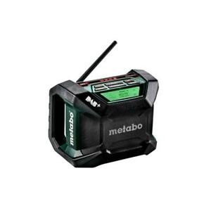 Metabo Akku Baustellenradio R 12-18 DAB+ BT + Netzkabel ohne Akku