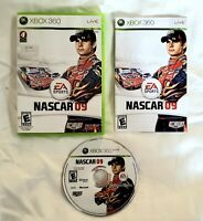NASCAR 09 (Microsoft Xbox 360, 2008) Complete with Manual CIB FREE SHIPPING!