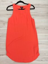 H&M Chiffon Dress NWT Size 4 Orange