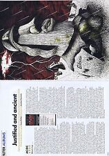 AC/DC - BLACK ICE REVIEWoriginal2page magazine clipping