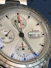 Sinn 303 Automatic chronograph, newly serviced