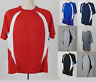 Champion Active Mens Double Dry Wicking Workout Poly Tshirts short sleeve S-3XL
