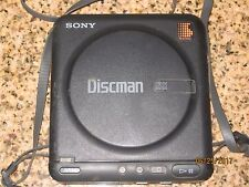 Vintage Sony Discman Model D-2 Portable CD Player 1989