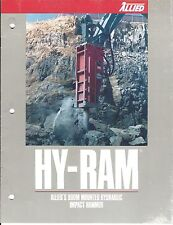 Equipment Brochure - Allied - Hy-Ram - Boom Hydraulic Impact Hammers (E3685)