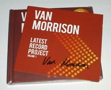 VAN MORRISON : LATEST RECORD PROJECT VOL 1 - * SIGNED * DELUXE 2 x CD, In Stock