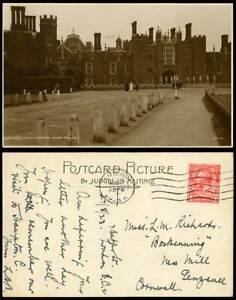Hampton Court Palace West Front London 1923 Old Real Photo Postcard Judges' 2493