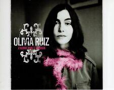 CD OLIVIA RUIZj'aime pas l'amourEX (B1062)