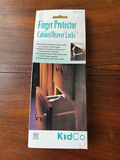 KidCo 6 Units Finger Protector Cabinet Drawer Locks Model # S332 (New)