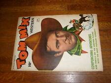 TOM MIX WESTERN, #4, 1948 FAWCETT COMIC, vg