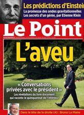 LE POINT N°2293 - 18/08/2016*L'AVEU conversations...*Les prédictions d'EINSTEIN